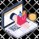Ecommerce Eshopping Online Shopping Icon