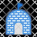 Eskimo Winter Building Icon