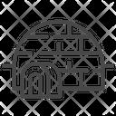 Eskimo House Icon