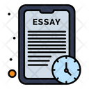 Essay Time Study Time Online Study Icon
