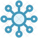 Essential Network Communication Icon