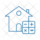 Home Valuation Mathematical Icon