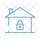 Secure Lock Home Icon