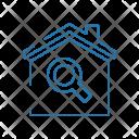 Search House Estate Icon