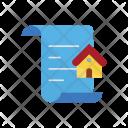 Documents House Estate Icon