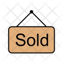 Estate Real Sign Icon