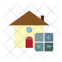 Mathematical Home Estate Icon