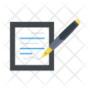 Note Write Agreement Icon