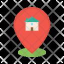 Location Home Estate Icon