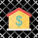 Dollar Price House Icon