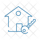 Home House Key Icon