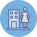 Estate Agent Homeowner Property Agent Icon