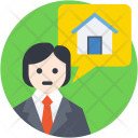 Property Agent Estate Icon