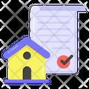 Estate Agreement Icon