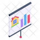 Estate Bar Chart Icon