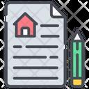 Estate Contract Handshake Handclasp Icon