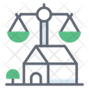 Estate Law Inheritance Law Justice Scale Icon