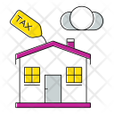 House Tax Invoice Icon