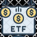 Etf Economic Invest Icon