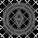 Ethereum Cryptocurrency Blockchain Icon