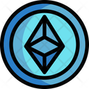 Ethereum Ethereum Coin Digital Money Icon