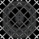 Cryptocurrency Digital Eth Icon