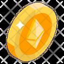 Ethereum Cryptocurrency Digital Money Icon