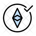 Ethereum Crypto Currency Icon