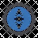 Ethereum Digital Crypto Icon