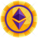 Ethereum Currency Crypto Icon