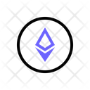 Ethereum Crypto Trading Icon