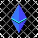 Ethereum Trading Crypto Icon