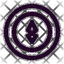 Ethereum Cryptocurrency Crypto Icon