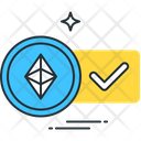 Ethereum Accepted Altcoin Ethereum Icon