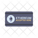 Ethereum Accepted Here Icon