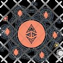 Ethereum Blockchain Icon