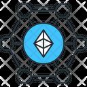 Ethereum Blockchain Blockchain Ethereum Icon