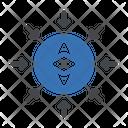 Ethereum Blockchain Crypto Icon