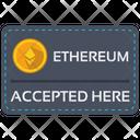 Ethereum Card Icon