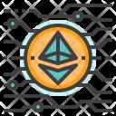 Ethereum Cryptocurrency Icon