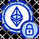 Ethereum Encryption Ethereum Private Ethereum Security Icon