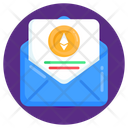 Business Mail Financial Mail Ethereum Mail Icon