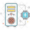 Ethereum Mining Icon