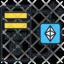 Ethereum Mining Cpu Finance Icon
