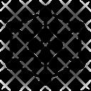 Ethereum Network Cryptocurrency Icon