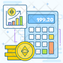 Ethereum Price Icon
