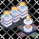 Btc Storage Bitcoin Server Bitcoin Storage Icon