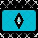Ethereum Suitcase Icon