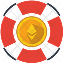 Ethereum Support Service Icon