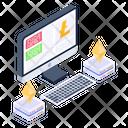 Bitcoin Tech Ethereum Technology Crypto Technology Icon